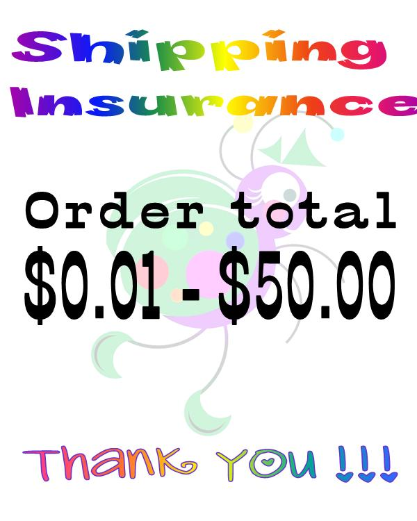Insurance - Order Total $0.01 to $50.00-
