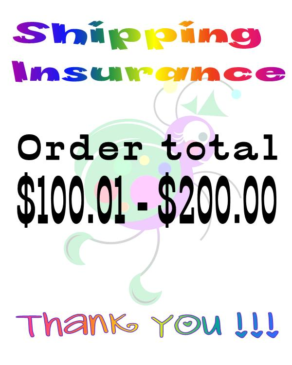 Insurance - Order Total $100.01 to $200.00-