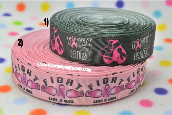 Breast Cancer Awareness - Fight Like A Girl - Black or Pink -1 inch-breast, cancer, pink, ribbon, october, awareness, month, fundraiser, keep, calm, fight, like, girl, fight like a girl