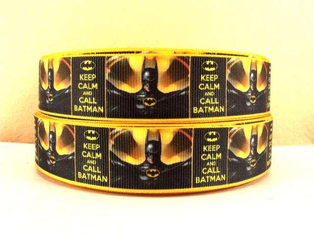 Batman - Keep Calm and Call Batman - 1 inch-batman, super, hero, superhero, bat, man, logo, joker, boy, ribbon, yellow, keep, calm, call,