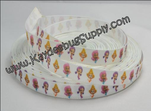 Bubble Guppies - White Background  3/8 inch-nick, jr, jr., nickelodeon, bubble, guppies, fish, orange, guppy, water, nemo, boys, boy