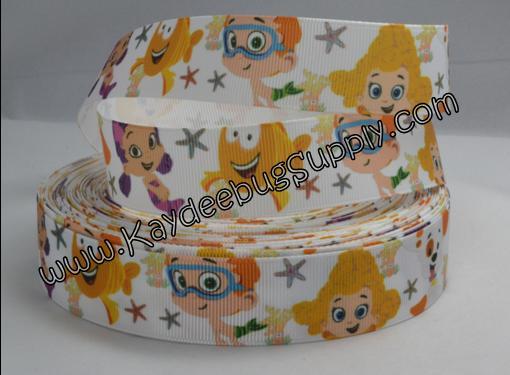 Bubble Guppies - White Background - 1 inch-nick, jr, jr., nickelodeon, bubble, guppies, fish, orange, guppy, water, nemo, boys, boy