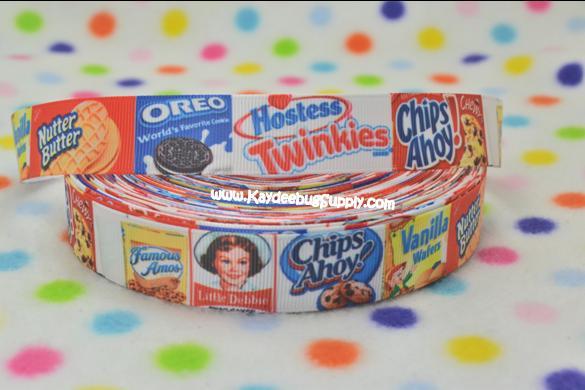 Cookies - 7/8 inch-twinkies, cookies,