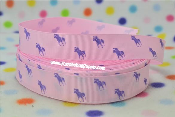 Designer - Polo Horse - Purple on Pink-RL, ralph, lauren, polo, polos, horse, horses, designer, preppy, nautical, prep, equestrian, water, pink, purple,