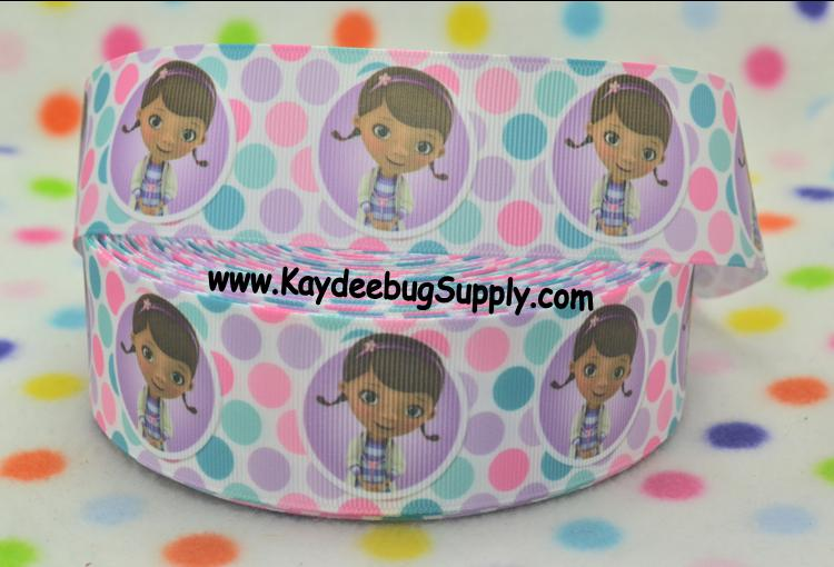 -doc, mcstuffin, mcstuffins, mc stuffins, bag of boos, boos, bag, clinic, disney, ethnic, black, doll, lambie, doctor, Flatback, Resin, Cabohcon, Bow, Centers, Appliques, Charms, Pendant , bandaid, dot, dots, polka, turquoise, purple, ribbon, black, african, american, doll, ethnic, brown,38mm