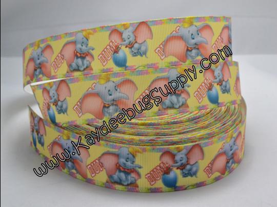 Dumbo Flying Elephant - Yellow - 1 inch-disney, dumbo, flying, elephant, world, WDW