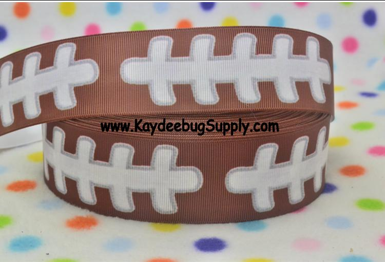 Football - BROWN - 1.5 inch-NFL, football, foot, ball, superbowl, super, bowl, sport, sports, NFL, team, teams, sports, foot, ball, football, spirit, football, field, pitch, green, college, collegiate, university, fan, brown, leather stitching, white, green, yard, line, lines, numbers, hash, mark, marks, scrimmage, sport, sports,