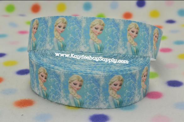 Frozen Movie - Elsa Snow Queen - 1 inch-frozen, movie, Elsa, Snow Queen, movie, disney,  only
