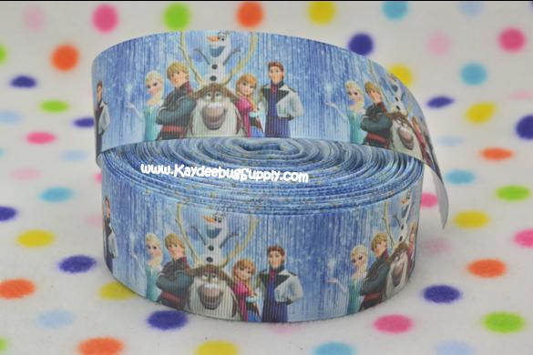 FROZEN Movie Crew- Snow falling - 1.5 inch-frozen, movie, movie, crew