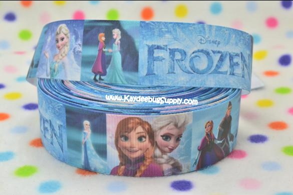 FROZEN - Anna & Elsa Movie Name - 1.5 inch-frozen, movie, anna, elsa,