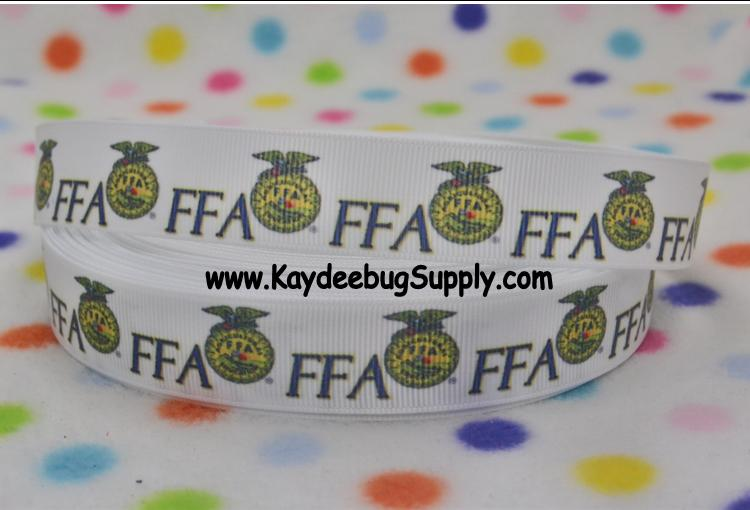 FFA - Future Farmers of America - 7/8 inch-FFA, agricultural, education, future, farmers, america, dairy, 4H, school, organization, farms, agriculture,