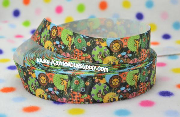 Jungle Safari - 1 inch-jungle, safari, animals, africa, boy, boys, baby, shower, lion, giraffe