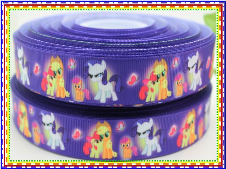My Little Pony - Purple Background - 7/8 inch-mlp, little, pony, my little pony, princess, pony princess, friendship, magic, friendship is magic, celestia, pinkie, shy, pinkie shy, apple, jack, apple jack, rainbow, purple, cheer, bow, twilight, sparkle, rainbow dash, dash, fluttershy, flutter, butterfly, butterflies, butter, fly