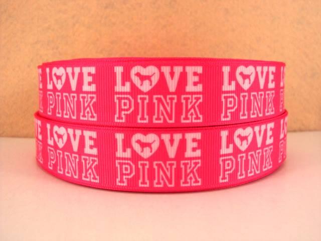 Love Pink - Victorias Secret - PINK - 7/8 in-logo, victoria, victorias, secret, love, pink,
