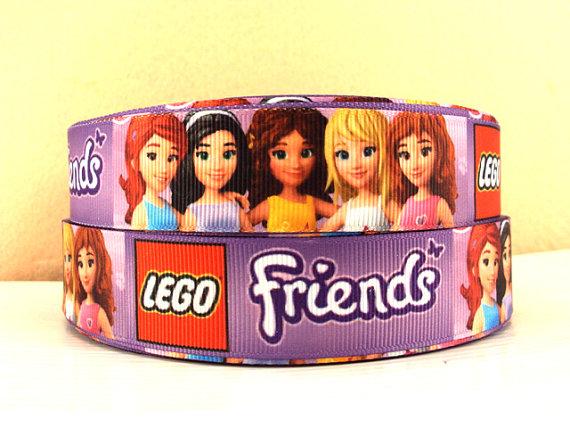 Lego Friends - PURPLE - 1 inch-lego, movie, building, block, blocks, ninjago, Andrea, Mia, Olivia, Stephanie, Emma, Heartlake, City
