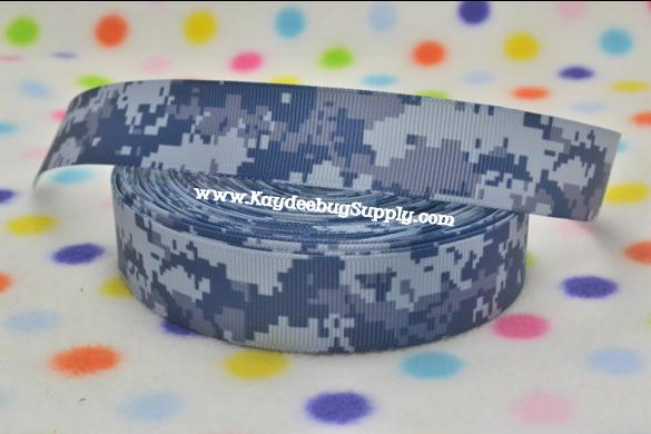 US Navy NWU Blue Camo - 7/8 inch-Air, force, airforce, navy, marine, marines, coast, guard, core, coast guard, army, military, camo, digits, camouflage, green, war, support, support our troops, blue camo, brown camo, green camo, MARPAT, USMC, tiger stripe, tiger, stripe, navy, NWU