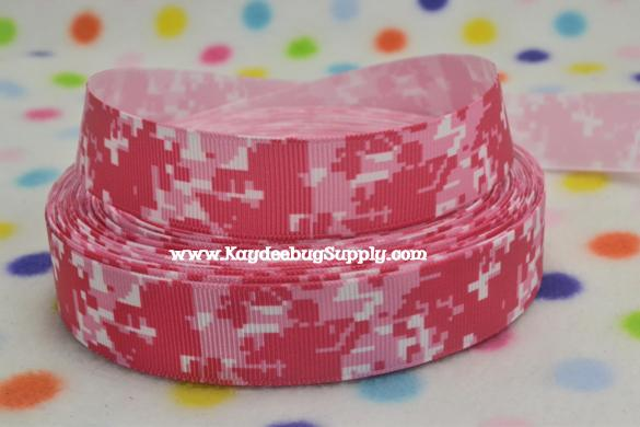 PINk Digital Camo - 7/8 inch-pink, girly, country, hunting, 