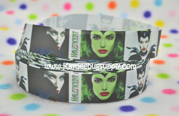 Maleficent - 1 inch-movie, disney, villians, villian, witch, sleeping, beauty, beast, halloween, haunted