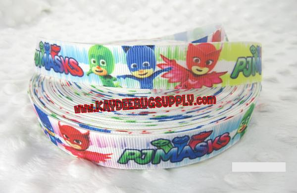 PJ Masks -  7/8 inch-pj masks, pjmasks, Connor, Catboy, Amaya, Owlette