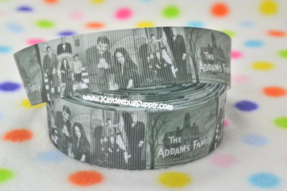 The Adams Family -1 inch-movie, halloween, adams, family