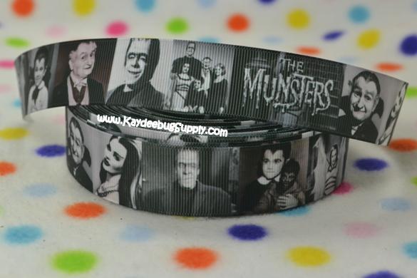 The Munsters  - 1 inch- spooky, holiday, munsters, bride, frankenstein, vampire, vampires, lagoon, monsters, munster, monster, halloween, horror, movie, Herman, Lily, Vampira, Creature, Black, Cleopatra, Wolfman