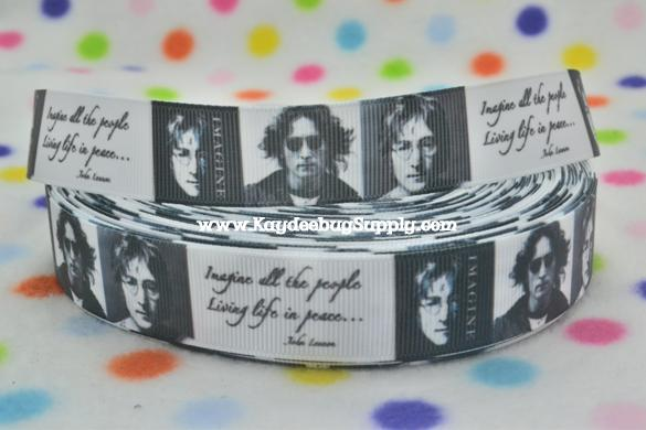 John Lennon - 7/8 inch-music