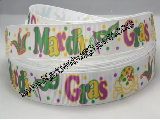Mardi Gras - Pirates - 7/8 inch-mardi, gras, krewe, purple, green, yellow, festival, holiday, glitter, stripes, masks, masquerade, pirate, pirates, fleur, de lis, lis, fleur de lis, confetti, holiday, fat tuesday, tuesday