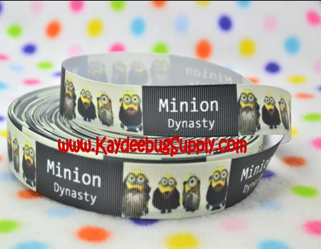 Minion Dynasty - 7/8 inch-despicable me, despicable, dispicable, minion, minions, movie, duck, dynasty