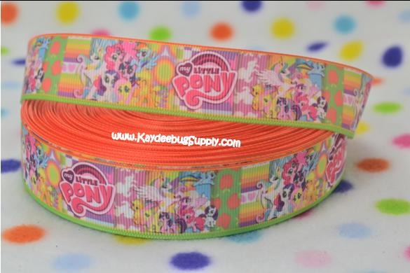 My Little Pony - ORANGE - 1 inch-movie, my, little, pony, mlp, equestria, ranibow, dash,
