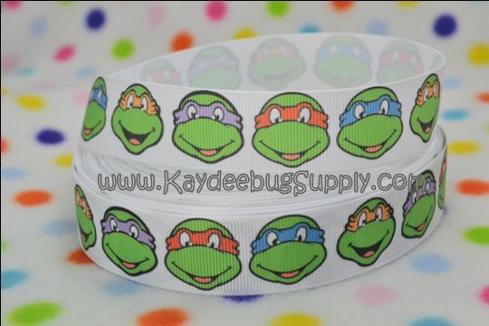 Ninja Turtles Faces - 1 inch-ninja, turtle, turtles, Shredder, Donatello, Leonardo, Raphael, Krang, Michelangelo, boy, boys,