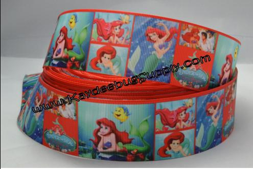 Princess Ariel - Little Mermaid - 1.5 inch-little, mermaid, disney, ariel, princess, fish, princesses, fish, water,