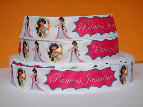 Princess Jasmine - 7/8 inch-cinderella, princess, princesses, disney, blue, dress, fairy, tale, fairytale, glitter, dancing, snow, white, tiana, ariel, pocahontas, mulan, jasmine, snow white, sofia, sophia, the, first, 1st, sofia the 1st, sofia the first, alladin, aladin, belly, dancer