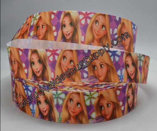 Princess - Rapunzel - PURPLE - 1inch-disney, movie, tangled, princess, rapunzel