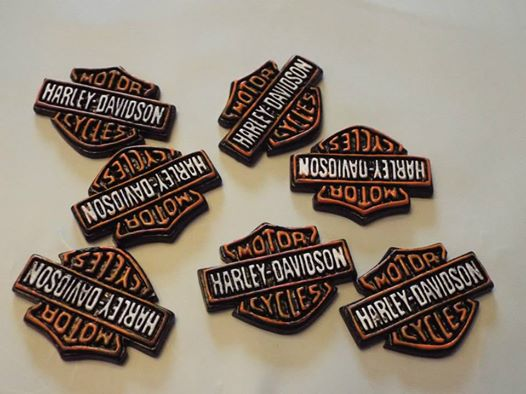 Harley Davidson - Flatback Resin Cabochon-flatback, resin, flat, backs, resins, cabochons, cabochon, flatbacks, bow, center, centers, charm, pendant, pendants, charms, back, motorcycle, ,