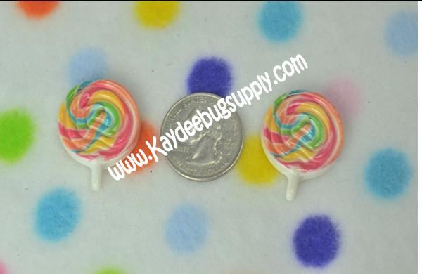 Lollipops - Resin Decoden-decoden, flatback, resin, flat, backs, resins, cabochons, cabochon, flatbacks, bow, center, centers, charm, pendant, pendants, charms, back, lollipop, lollipops, candy, whirly, pop, pops