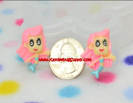 Molly - Bubble Guppies - Flatback Resin Cabochon-nick, jr, jr., nickelodeon, bubble, guppies, fish, orange, guppy, water, The Natural Born Leader, decoden, flatback, resin, flat, backs, resins, cabochons, cabochon, flatbacks, bow, center, centers, charm, pendant, pendants, charms, back,key, fob, pink, black, white, ribbon, logo, Flatback, Resin, Cabochon, Bow, Centers, Appliques, Charms, Pendant, cabochons, flat, back, backs, flatbacks, center, resins, cellphone, decoration, cell, phone, case