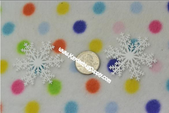 Snowflake  - Flatback Resin-decoden, flatback, resin, flat, backs, resins, cabochons, cabochon, flatbacks, bow, center, centers, charm, pendant, pendants, charms, back, kawaii, decodens, cell, phone, case, snow, flake, flakes, snowflake, snowflakes, frozen, movie,