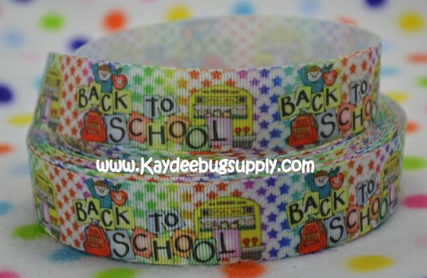 Back to School - Bus & Backpack - 1 inch-mickey, mouse, clubhouse, minnie, goofy, donald, daffy, duck, tooodles, ABC, ABCs, Back, school, love, back to school,