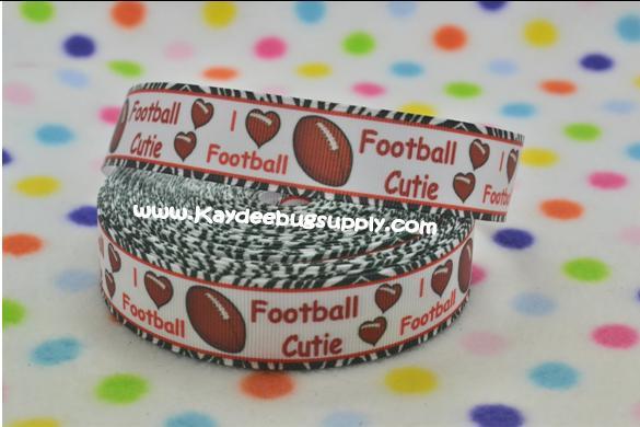 I Love Football - Football Cutie - 1 inch-i love football, football, football cutie, cutie, love, team, sports, cheer, spirit, teams, sport, , ball, balls, foot, football, footballs