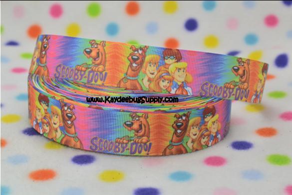 Scooby Doo & Crew - Multicolor - 1 inch-scooby, doo, mystery