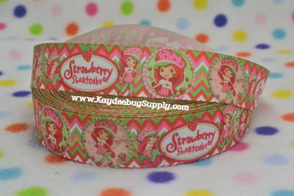 Strawberry Shortcake - 1 inch-strawberry, shortcake,